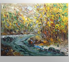 Oil Painting Landscape Painting Abstract Painting by Topfineart