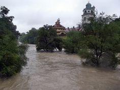 Isar Hochwasser 03.06.2013