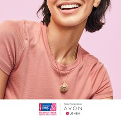 Hope Symbol, Avon Representative, Facial Oil, Essentials, Breast Cancer Awareness, Crystal Necklace, Natural Makeup, No Time For Me, Avon Facebook