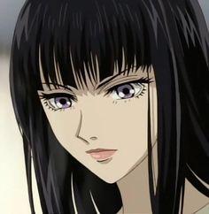 Sunako Nakahara - The Wallflower Dark Anime Girl, Manga Girl, Anime Girls, Gothic Anime, Cartoon Profile Pictures, Cartoon Pics, Wallflower Anime, Japanese Couple, Cute Anime Pics