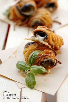 involtini alla norma              #recipe #juliesoissons
