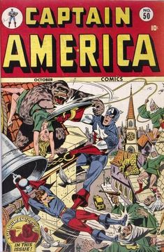 Captain America Comics (1941 Golden Age) 50
