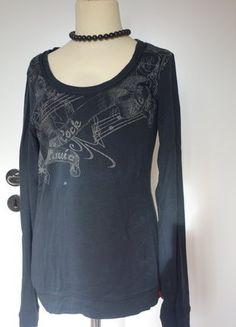 Kaufe meinen Artikel bei #Kleiderkreisel http://www.kleiderkreisel.de/damenmode/langarmlig/143721826-schwarzes-shirt-gr-s-edc-esprit