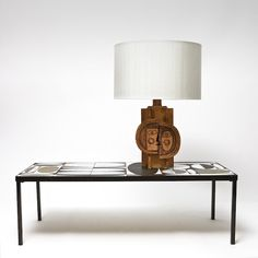 Roger Capron & Jean Derval - Lamp stand    www.galerieriviera.com