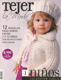 1 (niños) - Jimena Rodriguez - Álbuns da web do Picasa Knitting Books, Crochet Books, Knitting Videos, Knitting For Kids, Crochet For Kids, Baby Knitting, Crochet Baby, Knit Crochet, Vogue Knitting