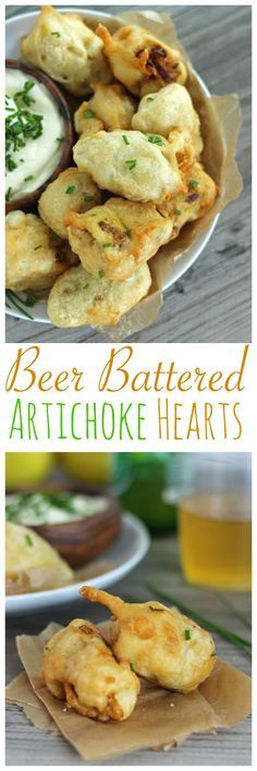 3 Ingredient Beer Battered Artichoke Hearts – Just Add Students 3 Ingredient Beer Battered Artichoke Hearts 3 Ingredient Beer Battered Artichoke Hearts. A delicious vegan appetizer. Fancy Appetizers, Vegan Appetizers, Finger Food Appetizers, Vegan Snacks, Appetizer Recipes, Finger Foods, Appetizer Ideas, Hawaiian Appetizers, Christmas Appetizers