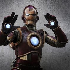 steam punk | iron man steampunk 01 Iron Man estilo SteamPunk, un estupendo disfraz ...