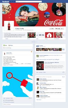 Sample McDonalds Timeline Fan Page (design commissioned by Mashable ...