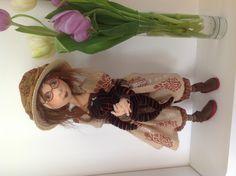 Jill Maas original doll.  Janet and Walter