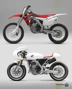"81 curtidas, 3 comentários - SAINT MOTORS Co.™ ♠♣    19⚡M (@saint_motors) no Instagram: ""HONDA CRF 450 Before & After Built by: Sorry, I don't know  #honda #before_ana_after…"""
