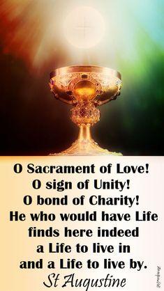 o sacrament of love - st augustine - 18 jan 2018