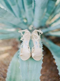 Nude ankle strap stilettos: http://www.stylemepretty.com/arizona-weddings/tucson/2017/02/10/all-out-glamour-in-the-desert/ Photography: Elyse Hall - http://elysehall.com/