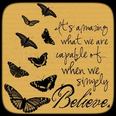 Simply Believe 12x12 Fine Art Print by InspireSomebodyLLC on Etsy, $35.00