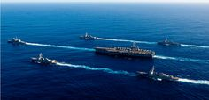 Warships Arrive in West Philippine Sea, Including US Aircraft Carrier