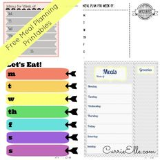 Free Meal Planning Printables (and Meal Planning Resources, Too!)