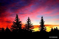 Hallelujah to the 'One' that paints the sky! A real Colorado sunset!