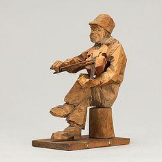 CARL JOHAN TRYGG , skulptur, signerad och daterad 1918. - Bukowskis