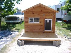 Keep your best friend comfortable this summer in one of our Ac Dog Houses http//www.greenswoodworks.com