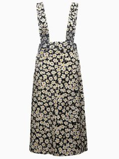 Floral Print Skirt with Shoulder Straps | Choies