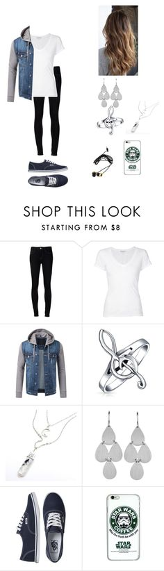 """""""..... No comment"""" by nialhoranlover ❤ liked on Polyvore featuring Ström, James Perse, Bling Jewelry, Irene Neuwirth, Vans and Forever 21"""