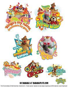 -The Banana Splits . Banana Split, Disney Characters, Fictional Characters, Fantasy Characters, Banana Boat