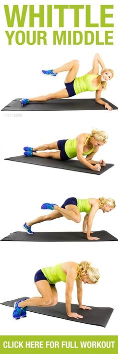 Get that core nice and tight for summer with these fitness moves!