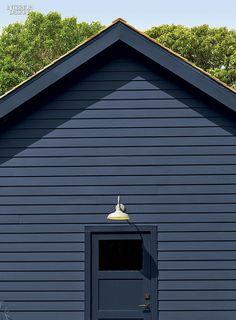 Designer Mark Zeff's Black Barn Retreat | Photo by Eric Laignel.