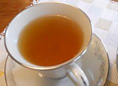 Help fight fatigue with this Gugija Cha recipe, tea made from dried wolfberries Cha Recipe, Korean Food, Korean Recipes, Asian Tea, Ginger Slice, I Love Food, Drinks, Beverages, Cocktails