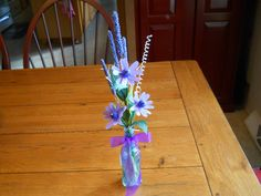 Flower Arrangement, African Daisy, Crepe Paper Flowers,Home Decor, Flower Gift by OmaRegina on Etsy