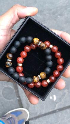 mens accessories – High Fashion For Men Gemstone Bracelets, Bracelets For Men, Fashion Bracelets, Jewelry Bracelets, Fashion Jewellery, Men's Jewelry, Beaded Jewelry, Handmade Jewelry, Jewelry Making