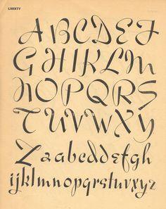 Cursive Writing Alphabet Arizonia Alphabet Example