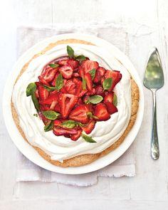 Baby Shower Cake Recipes: Strawberry shortcake has never tasted so good.