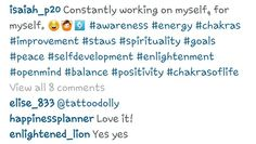 Instagram @ isaiah_p20 Constantly working on myself, for myself # awarness energy Chakras spiritual  improvement staus spirituality goals peave self development enlightenment open mind balance positivity Self Development, Working On Myself, Chakras, Hashtags, Spirituality, Mindfulness, Positivity, Peace, Goals
