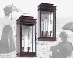 For those individuals who like a touch of the Old World without leaving modern comforts behind. Transitional outdoor lighting by Troy Lighting. Vintage #traditional wall sconces