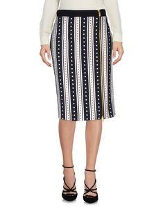 EMANUEL UNGARO Knee Length Skirt. #emanuelungaro #cloth #dress #top #skirt #pant #coat #jacket #jecket #beachwear #