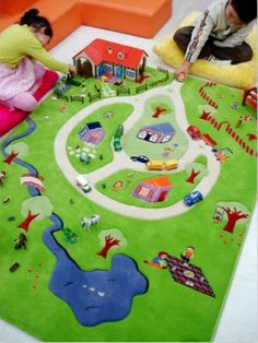 Bubba Bling Rug Kids Interactive They Have One With A Farm Too Great Kid Ideas Pinterest Farming And Plays