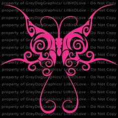 Gothic Butterfly Vinyl Decal Sticker Tribal For Car Auto Vehicle - Butterfly vinyl decals