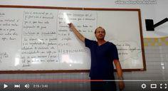 Professor Marcelo Vieira ensina critérios de divisibilidade para a Turma 604