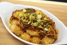 Chili-Cheese Potato Tots