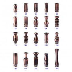510 Copper Drip Tips