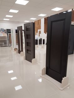Black and dark colour doors by Murphy Larkin Timber Products