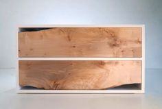 simpledreams0:    Contrasting natural wood and clean white.