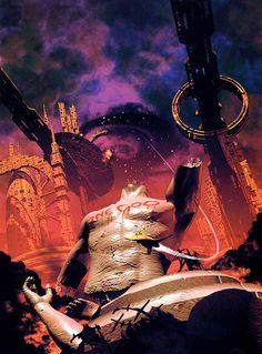 FRED GAMBINO - Twlight of the Gods by Mark Clapham & Jon de Burgh Miller - 1999 New Adventures / Virgin