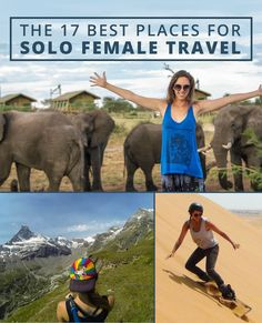 @kristinaddis 17 Favorite Places For Solo Female Travel | Buzz Feed