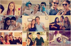 Bizimkilerin alışkanlıkları :D Turkish Actors, Photo Wall, Polaroid Film, Happiness, Photograph
