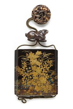 A large four-case lacquer inro Edo period (19th century)