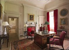 Scottish Country House: Lord Dumfries study