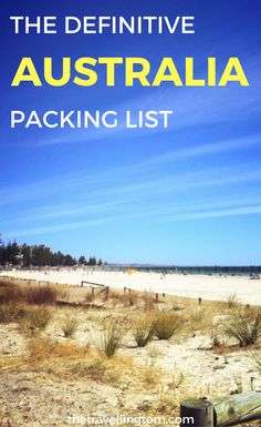 If you're wondering what to pack for australia, this guide is for you! it can be hard to know what to include on an australia packing list, due to varying Australia Travel Guide, Visit Australia, South Australia, Australia Trip, Travel Guides, Travel Tips, Travel Destinations, Travel Packing, Travel Stuff