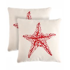 Shop Wayfair for Pegasus Home Fashions Starfish Throw Pillow - Great Deals on all Decor products with the best selection to choose from!