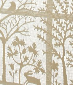 Tree Of Life Lace Curtain From Country Curtains Home